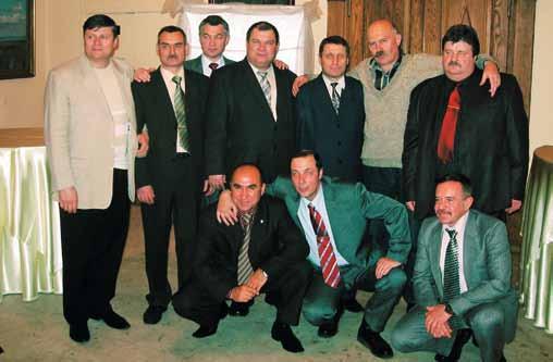 2007 год. 3 взвод 9 роты 1979 года выпуска на праздновании 57-ой годовщины Спецназа