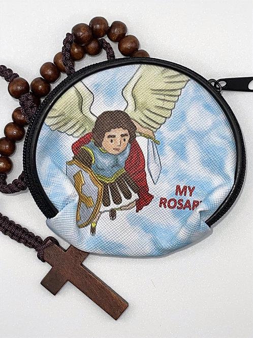 Estuche para Rosario San Miguel Arcángel