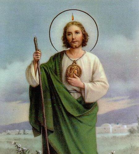 Veladora San Judas Tadeo (Etiqueta)
