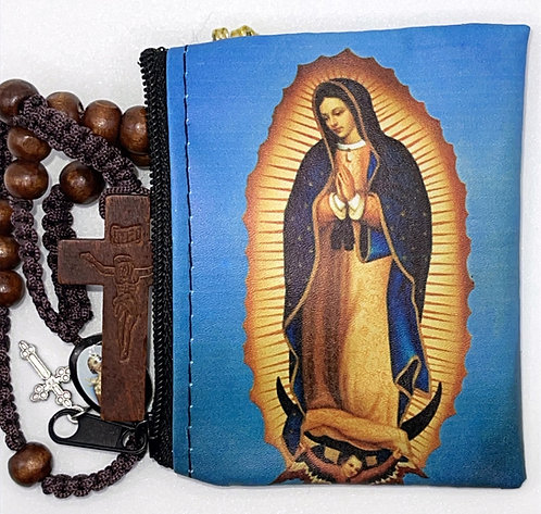 Estuche para Rosario Virgen de Guadalupe