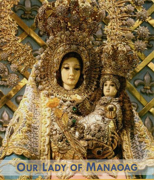 Veladora Our Lady of Manaoag  (Etiqueta)