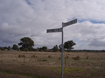 Signpost in Australia