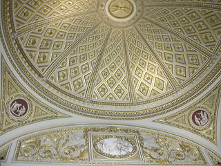 Uffizi Ceiling, Florence