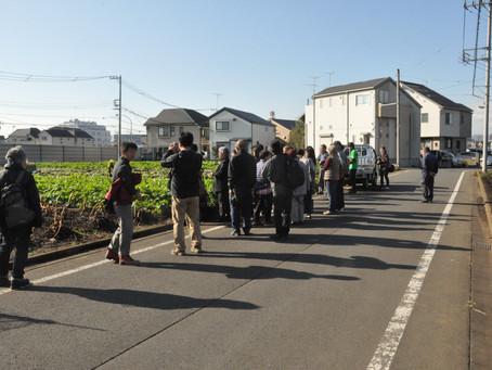 江戸東京野菜「東光寺ダイコン」を学ぼう!〜圃場見学と座学〜ご参加ありがとうございました!