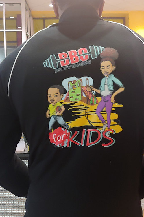 Fitted Fit Kids Logo Jacket