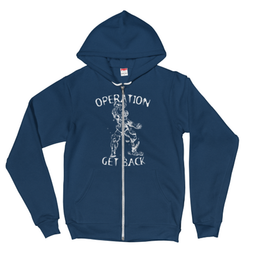 Fleece Zip-Up - Operation Get Back