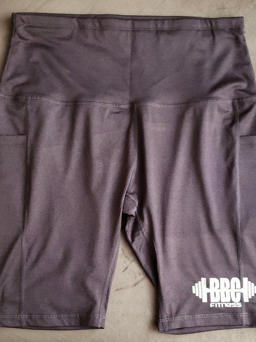 BBC Fitness Biker Shorts - Grey