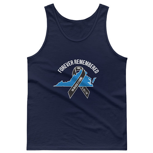 Forever Remembered Tank - VA Beach Strong
