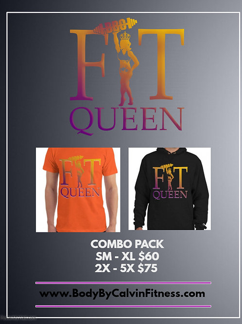 Plus Size Fit Queen Combo Pack