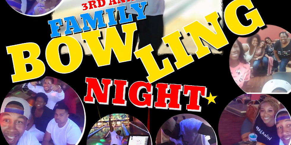 3rd Annual BBC Fitness Friends & Family Bowling Night