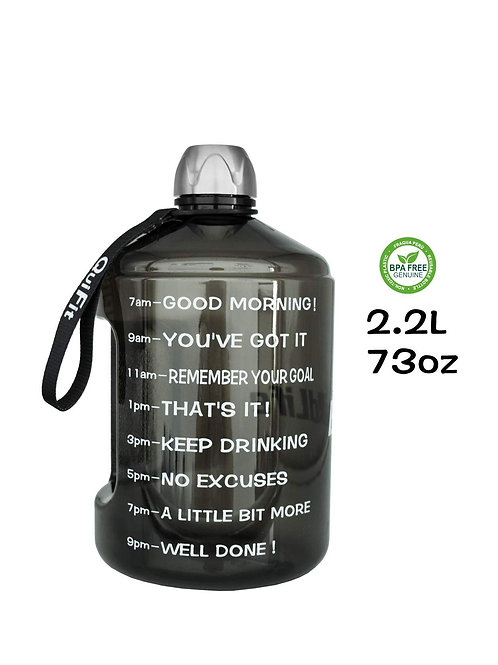 73oz Water Bottle w/stainless steel top
