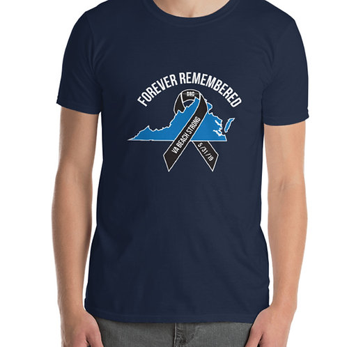 Forever Remembered T-shirt- VA Beach Strong