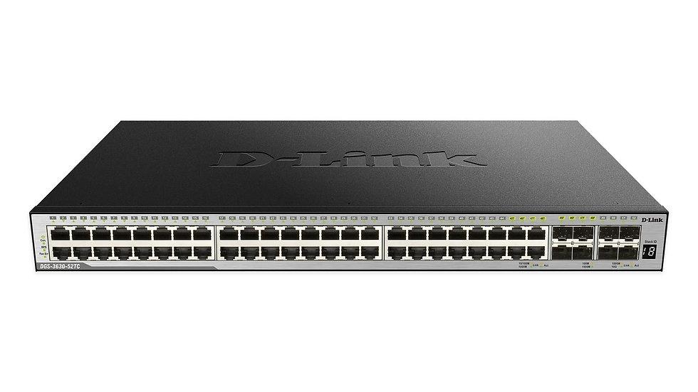 D-Link DGS-3630-52TC/ESI xStack L3 Managed Stackable Gigabit Switches (c/w 4 10G