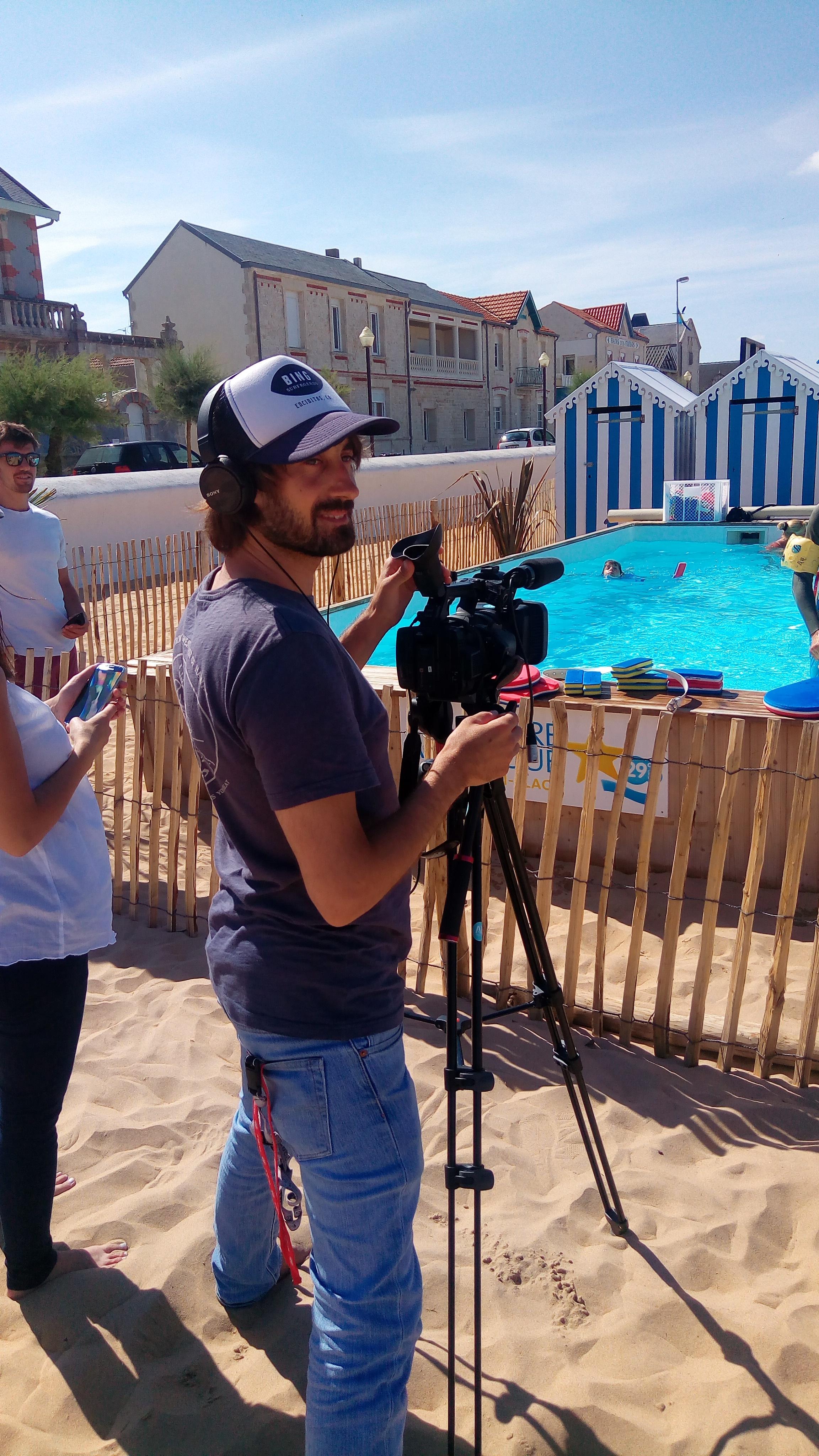 Cameraman Romain