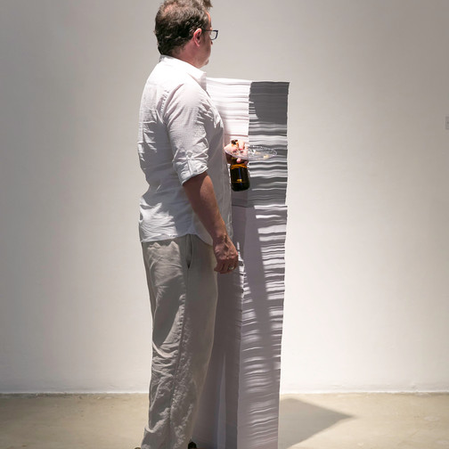 Co curator Jessica Wimbley