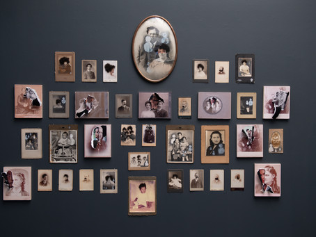Virtual Solo Exhibition: Belle Jet and Cabinet Cards at LMU's Laband Art Gallery