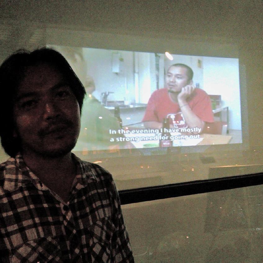 Curator Thinh Nyugen