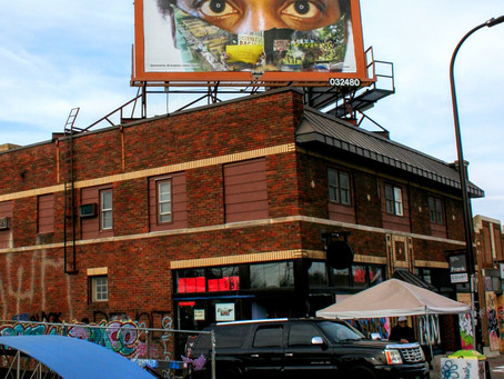 Social Justice Billboard Project one of Nine outdoor art gems in the Twin Cities