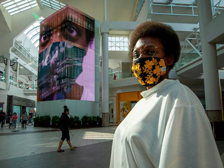 Masking Series featured in the Sacramento Bee