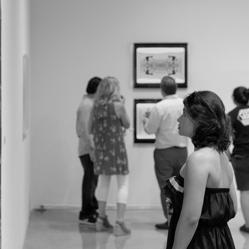 Biomythography: Currency Exchange Opening Reception Aug. 30, 2016 at Claremont Graduate University. Photo credit: Todd Sharp