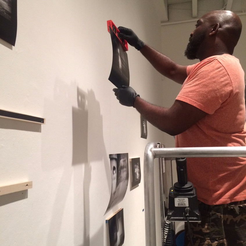 Chris Christion installing