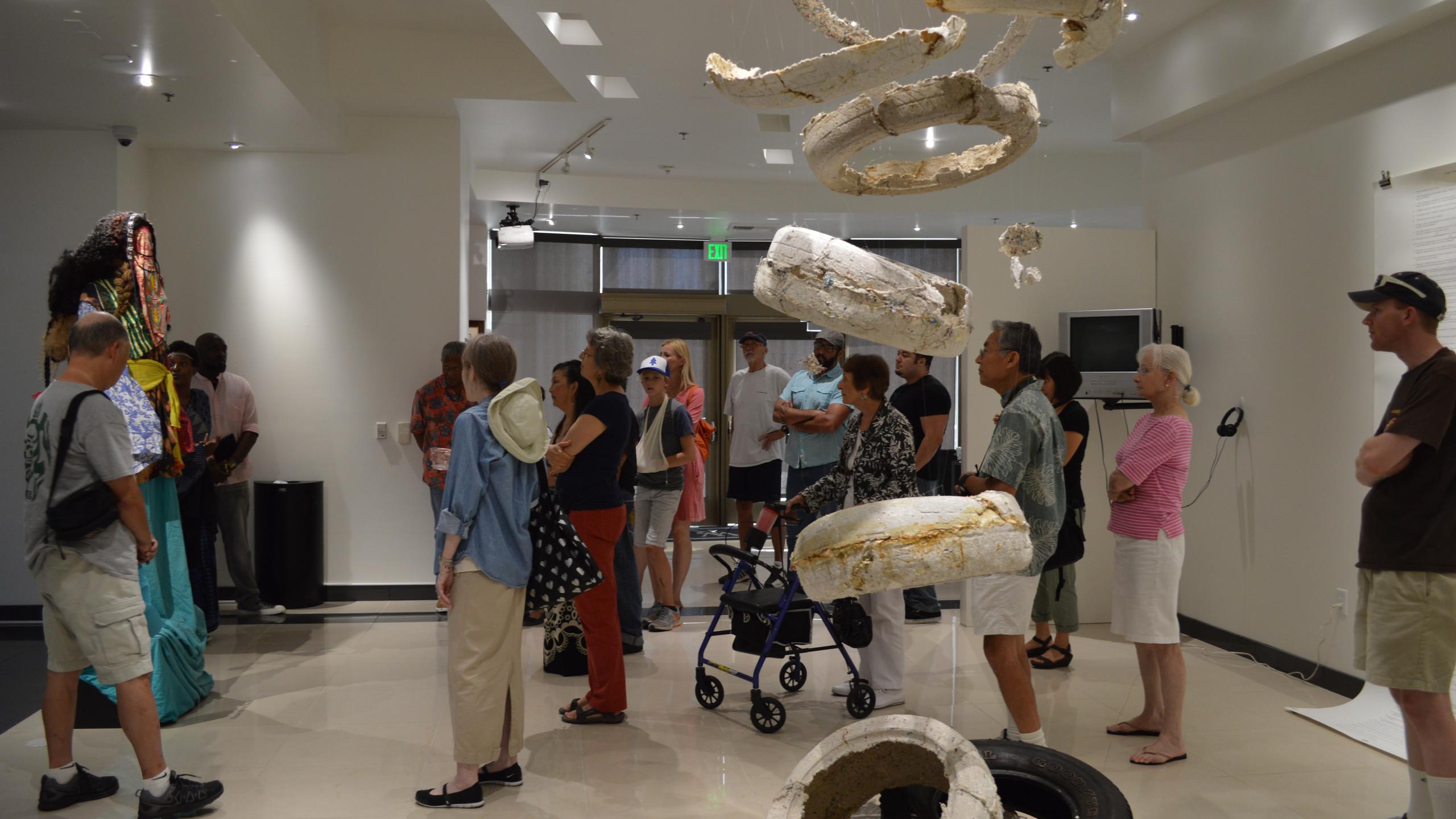 Curator's Walk Through