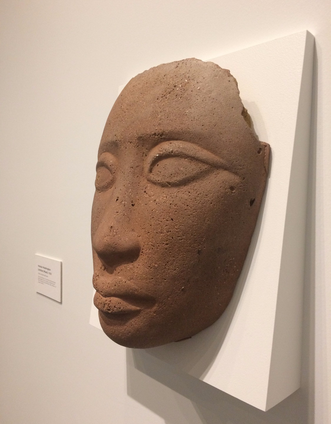 Horace Washington, Untitled (Mask), 1988