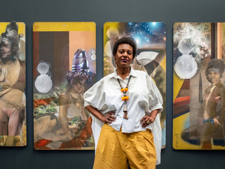 Jessica Wimbley: Artist in Residence at College of the Canyons in Santa Clarita, CA.