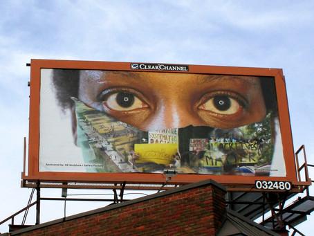 NE Sculpture ∣ Gallery Factory, Social Justice Billboard Project