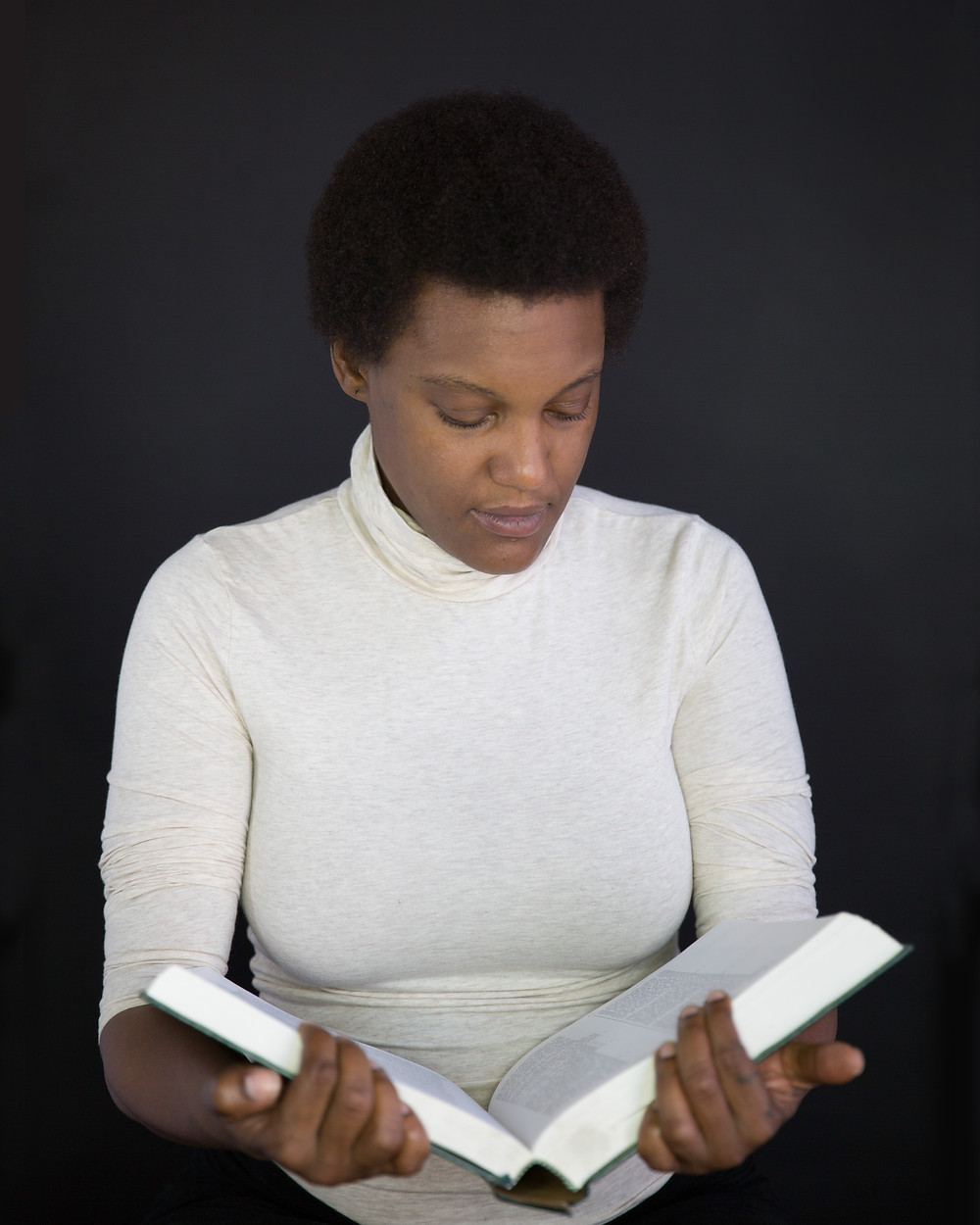 Artist Jessica Wimbley as Octavia Butler
