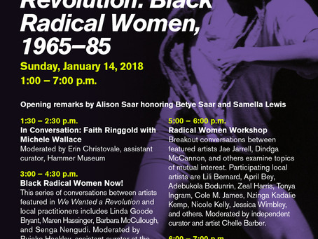 Closing Symposium: We Wanted a Revolution: Black Radical Women, 1965-85 at California African Americ