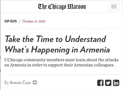 Take Time to Understand What's Happening in Armenia