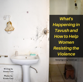 What's Happening in Tavush and How to Help Women Resisting the Violence
