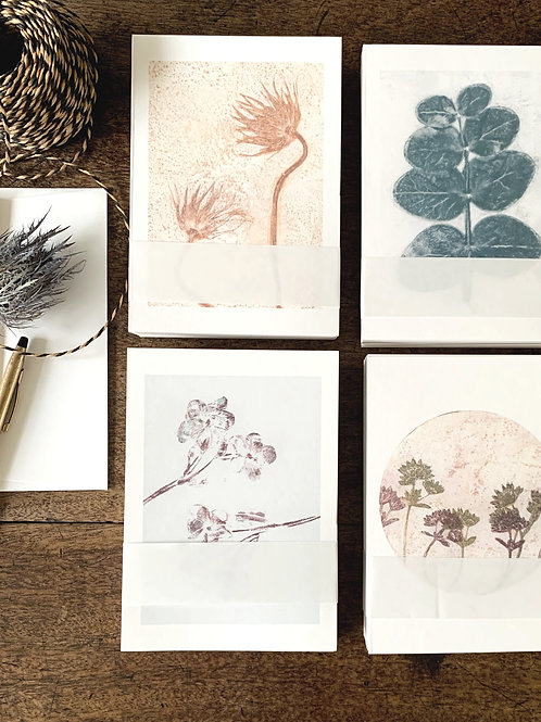 Set of 5 - greeting cards
