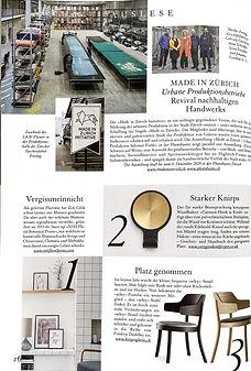 Das Ideale Heim featured XIXI Florals in November 2020.