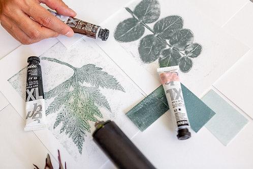 Floral | Botanical Printmaking Workshop