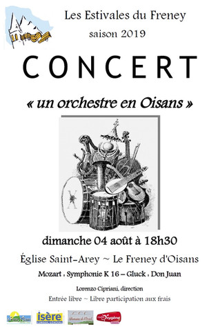 Concert du 4 août 2019