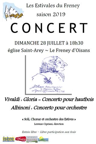 Concert du 28 juillet 2019