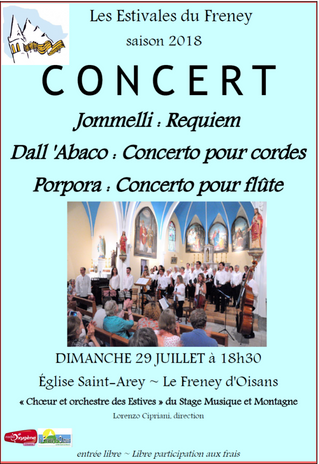 Concert du 29 juillet 2018