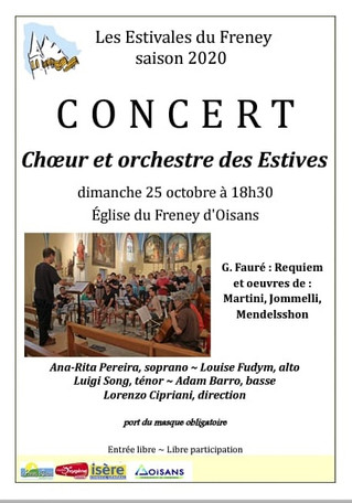 Concert du 25 octobre 2020