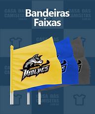 Bandeiras e faixas - personalizadas prom