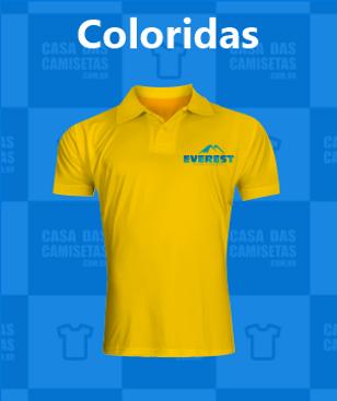 Polo Coloridas - personalizadas promocio