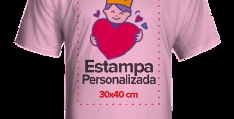 Camiseta Rosa bebe Personalizada