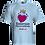 Thumbnail: Camiseta Azul bebe Personalizada