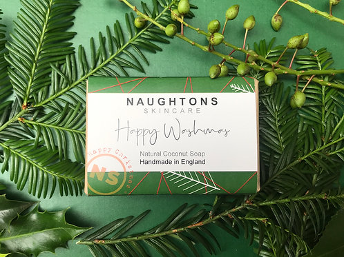 Happy Washmas Coconut Soap Bar