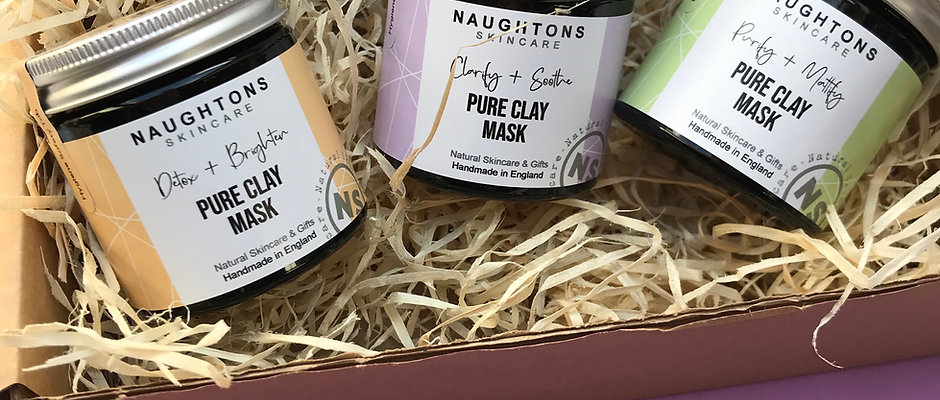Get Masked Up! - Trio Clay Mask Gift Set