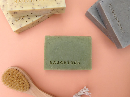 Large Coconut Cleansing Bar - Coconut & Tea Tree