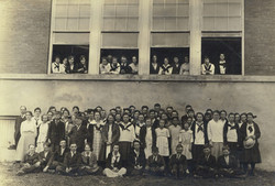 Early days of Lincoln Elementary