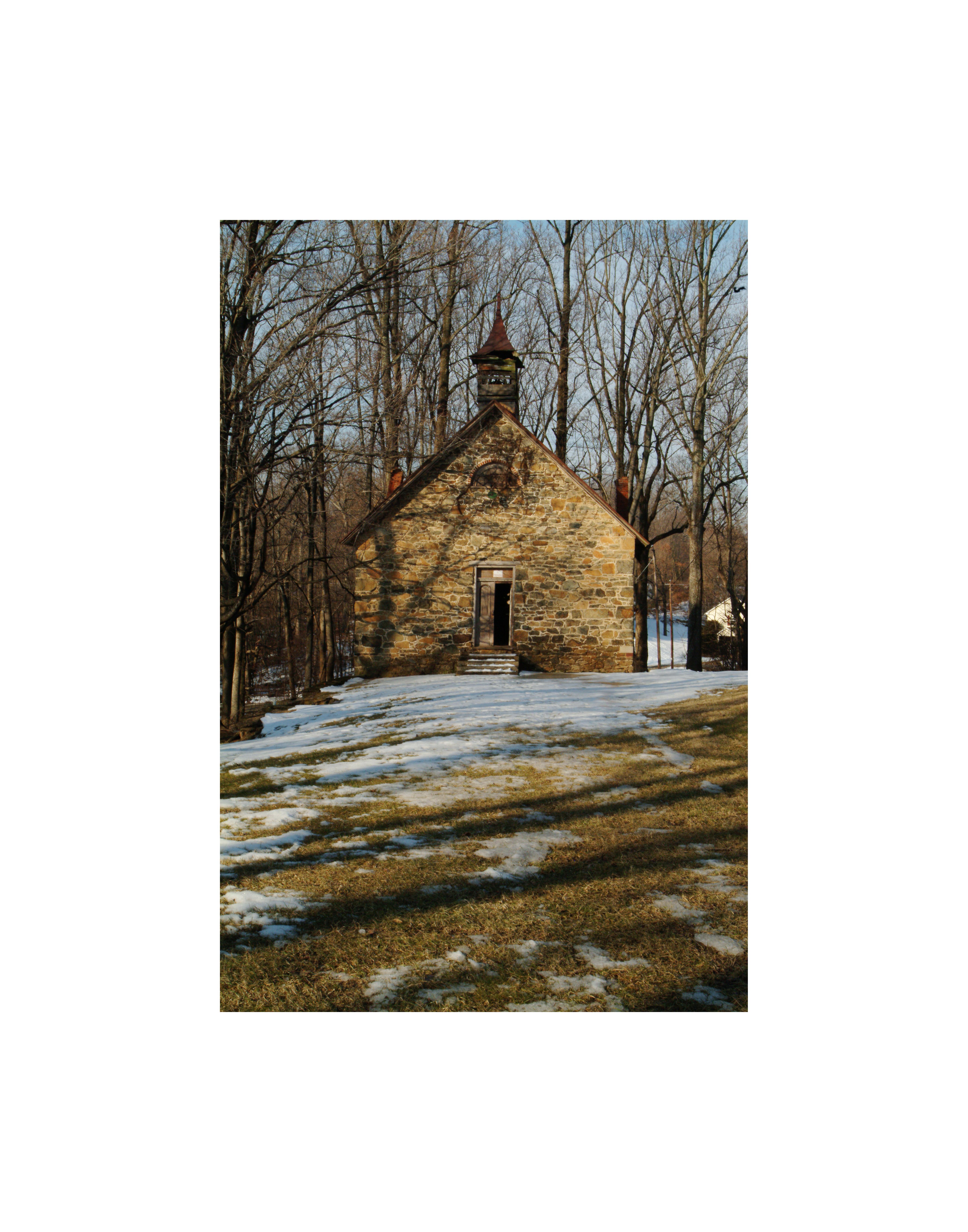 Grace Church in winter