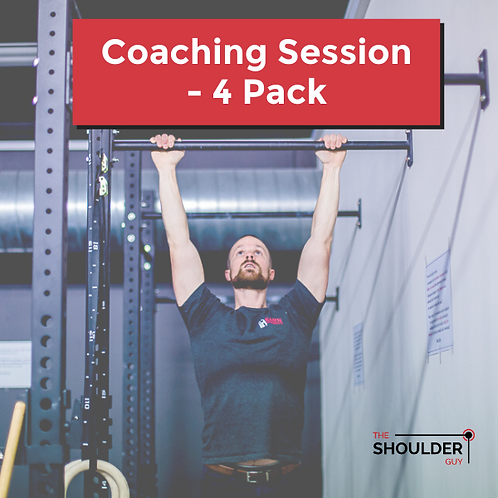 Coaching Session - 4 Pack